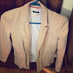 J crew blazer. 100% cotton